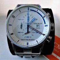 Locman Montecristo Titanium 44mm White No numerals