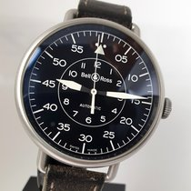 Bell & Ross Steel 45mm Automatic BRWW192-MIL/SCA pre-owned United Kingdom, Sheffield