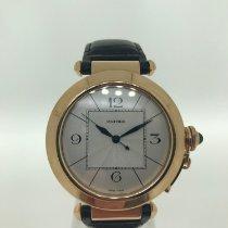 Cartier Roségoud Automatisch Wit Arabisch 42mm tweedehands Pasha