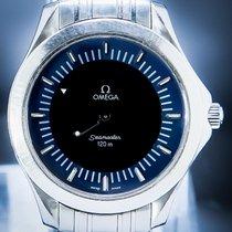 Omega Seamaster Acier 39mm Bleu Sans chiffres