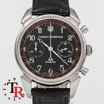 Cuervo y Sobrinos pre-owned Automatic 41mm Black Sapphire Glass