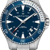 Hamilton H82345141 Acier Khaki Navy Scuba nouveau