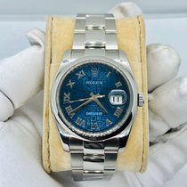 Rolex Datejust Steel 36mm Blue United States of America, California, Newport beach