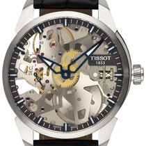 Tissot T-Complication Acero 43,00mm Transparente