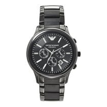 Armani Ceramic 47mm Quartz Emporio Armani Men's Watch AR1451 new
