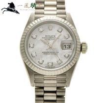 Rolex Lady-Datejust White gold 26mm White