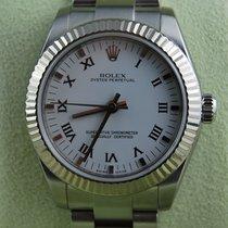 Rolex Oyster Perpetual 31 Acciaio 31mm Bianco Romano Italia, Trento