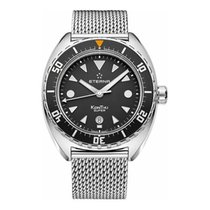 Eterna NEW ETERNA KONTIKI REF 1273-41-1718 45 MM W.R.200 SAPPHIRE New Steel 45mm Automatic