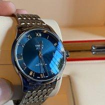 Omega De Ville Hour Vision Acero 41mm Azul Romanos