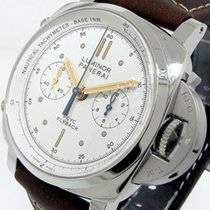 Panerai Luminor 1950 3 Days Chrono Flyback new Automatic Chronograph Watch with original box and original papers PAM00654