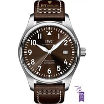 IWC Pilot Mark Acero 40mm Marrón Árabes