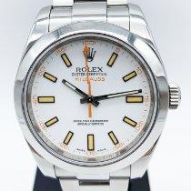 Rolex Milgauss Acier 40mm Blanc Sans chiffres France, Paris