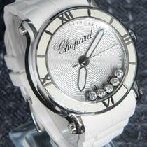 Chopard Happy Sport Steel 36mm Silver No numerals