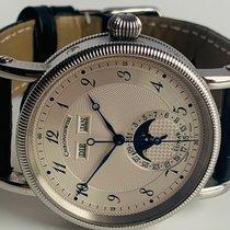 Chronoswiss Lunar Steel 38mm Silver Arabic numerals
