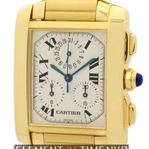 Cartier W50005R2 Yellow gold Tank Française 28mm pre-owned United States of America, New York, New York