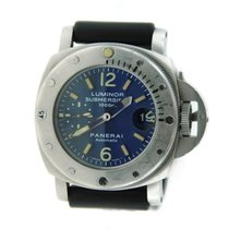 Panerai Luminor Submersible Blue Dial Automatic Stainless Steel