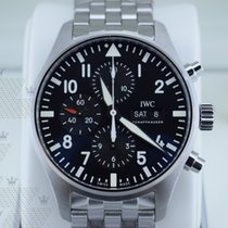 萬國 IW377710   Pilot Black Dial Automatic Men's Chronograph