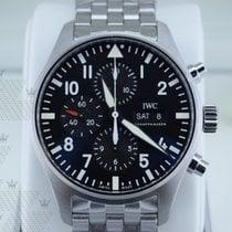 萬國 IW377710   Pilot Black Dial Automatic Men's Chronograph