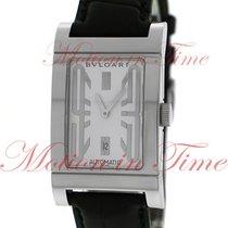 Bulgari Rettangolo Steel 26mm White Arabic numerals United States of America, New York, New York
