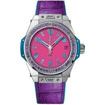 Hublot Big Bang Pop Art Stahl 39mm Pink