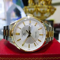 TAG Heuer Carrera Calibre 5 Stainless Steel Gold Ref: Wv215a...