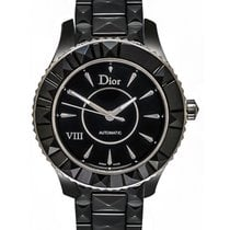 Dior VIII Black Ceramic Automatic Ladies Watch CD1245E0C001