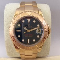 Rolex Yacht-Master 68628 Yellow Gold Blue dial / 35mm