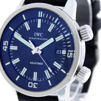 IWC Aquatimer Automatic Сталь Чёрный Без цифр