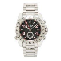 Tudor Aeronaut 20200 Mens Automatic Watch Black Dial Stainless...