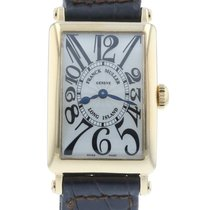 Franck Muller Long Island 902 QZ Watch with Leather Bracelet...