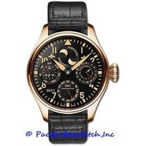 IWC Big Pilot Rose gold 46mm Black Arabic numerals