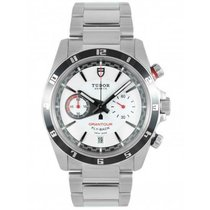 Tudor Grantour Chrono Fly-Back Steel 42mm White