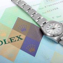 Rolex 2004 S Oyster Perpetual Silver Dial w/ Original Rolex...