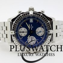 Breitling Chronomat  A13050.1 40,5mm  Blue Dial JUST SERVICED BD