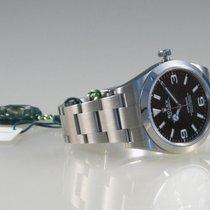 Rolex Explorer Stahl 39mm Schwarz Arabisch Deutschland, Dorsten