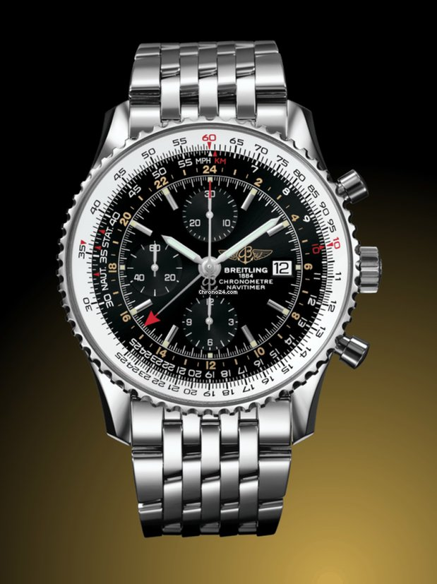 b085707d0 Breitling NAVITIMER 1 CHRONOGRAPH GMT 46 for $6,168 for sale from a Seller  on Chrono24