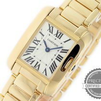 Cartier Tank Anglaise pre-owned 30.2mm Yellow gold