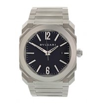 Bulgari Steel 41.5mm Automatic BLG 193 pre-owned United States of America, New York, New York