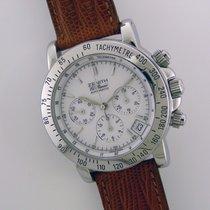 Zenith Rainbow El Primero stainless steel chronograph watch