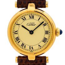 Cartier Tank Vermeil 24mm Roman numerals
