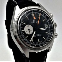 Tissot Chronograph 41mm Automatic 1971 pre-owned Black