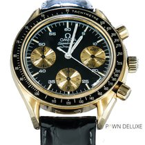 Omega Speedmaster Reduced pre-owned 39mm Yellow gold