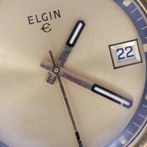 Elgin pre-owned Manual winding 40mm Gold Plexiglass Not water resistant
