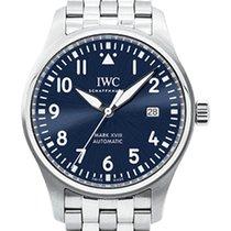 IWC Pilot Mark Steel 40mm Blue United Kingdom, Essex