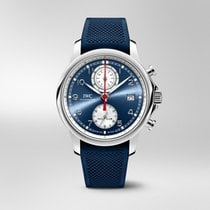 IWC Portuguese Yacht Club Chronograph Steel 43.5mm Blue United States of America, Iowa, Des Moines