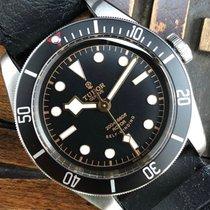 Tudor Black Bay Acero 41mm Negro Sin cifras