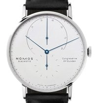 NOMOS White gold 42mm Manual winding 933 new