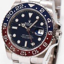 Rolex GMT-Master II Witgoud 40mm Blauw