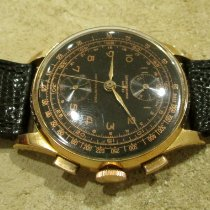Chronographe Suisse Cie Yellow gold 38mm Manual winding Venus 170 pre-owned