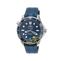 Omega Seamaster Diver 300 M 210.32.42.20.03.001 Omega Seamaster Diver 300 Ceramica Blu 2019 new